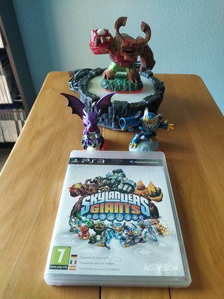 Juegos PS3 (Skylanders Giants+3 Figuras+Portal)