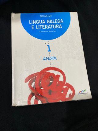 Libro de Lingua Galega 1ºBachillerato