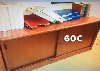 Mueble archivador bajo
