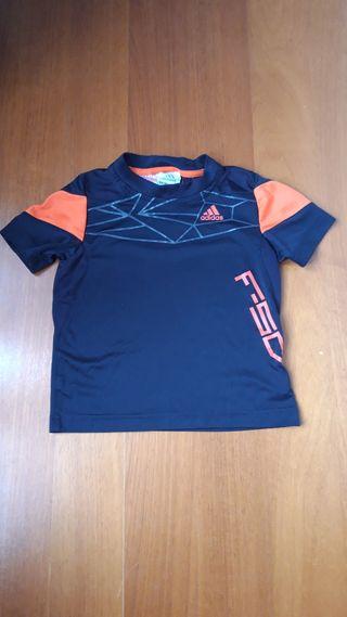 Camiseta Adidas niño 3 a 4 años