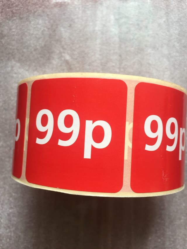 99p 1000 stickers ... brand new .