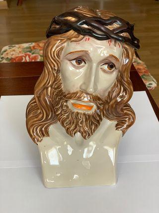 Escultura Religiosa Busto Cristo