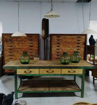 Mostrador o mesa de trabajo industrial
