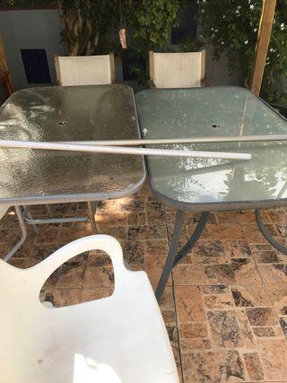 Mesas para exterior jardín