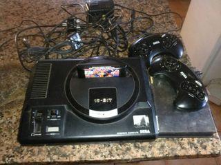 Sega megadrive+1 juego