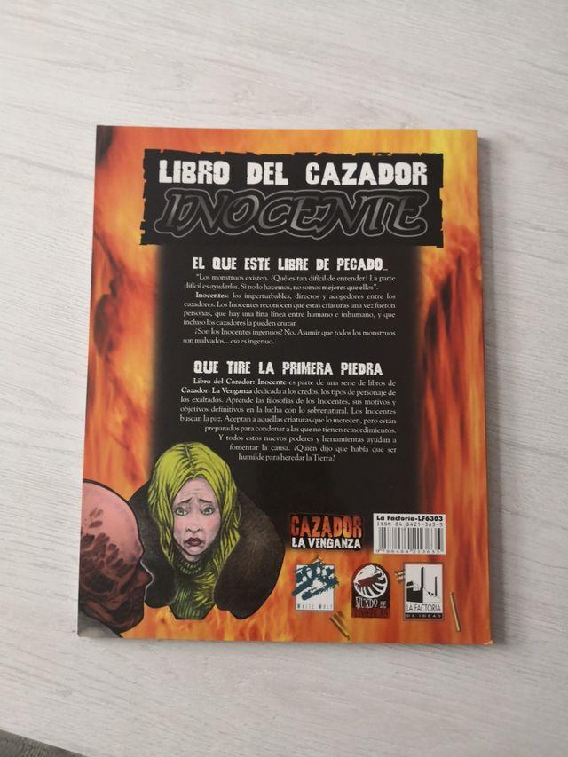 Libro del cazador Inocente