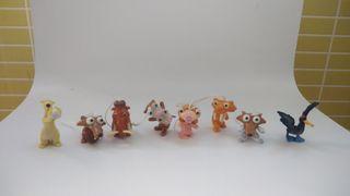 Lote de 8 muñecos Ice Age
