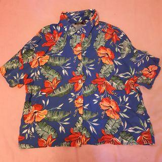 Camisa Hawaiana de flores
