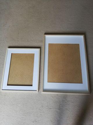 2 wood Frames