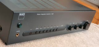 NAD C320 amplificador con mando