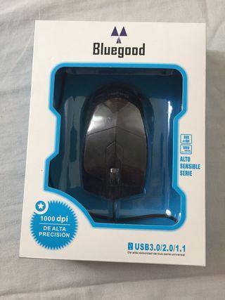 Ratón óptico de alta precisión Bluegood