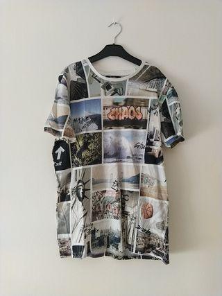Camiseta graffitis