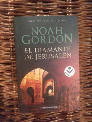 """Libro """"El diamante de Jerusalén"""" - Noah Gordon"""