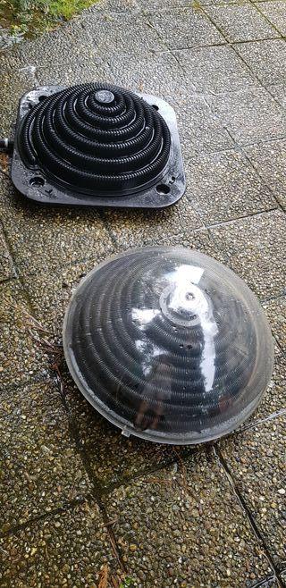 Calentador solar para piscina (dos unidades)