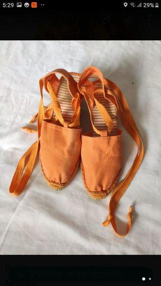 Alpargatas zapatillas verano. Talla 40.