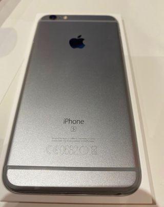 Iphone 6 s plus 64 gb con 8 fundas