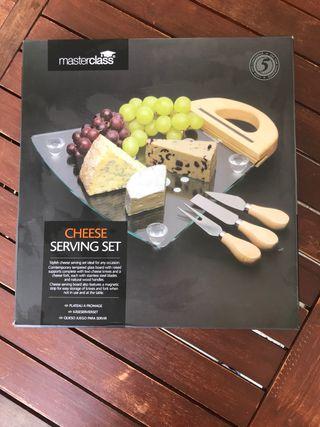 Cheese serving set Masterclass