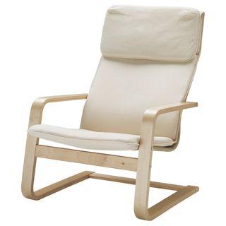 butaca, silla, mecedora marca pello de ikea