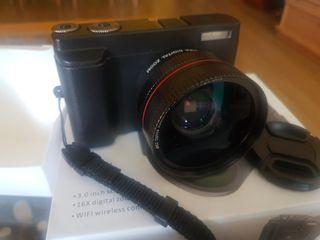 Camara Fotos Digital Full HD 1080P WiFi