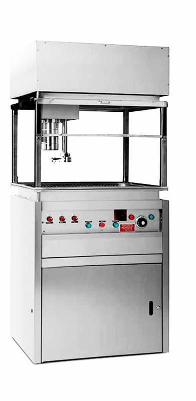 Churrera automática industrial sin humos