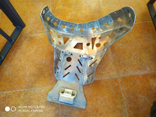 ktm cubrecarter de aluminio