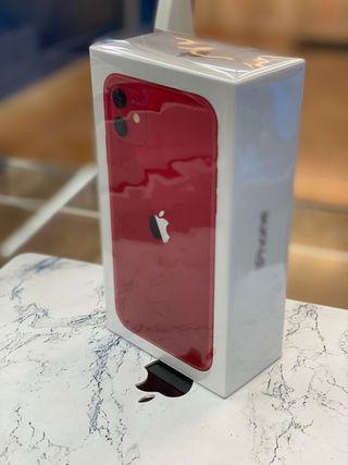 IPHONE 11 64GB ROJO PRECINTADO