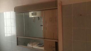 armario de baño de pared con espejo