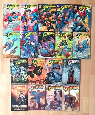LAS AVENTURAS DE SUPERMAN Completa 18 tomos. 2002