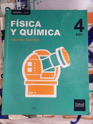 Libros FyQ 4ESO