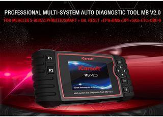 iCarsoft MB V2.0 Dispositivo de diagnóstico Profes