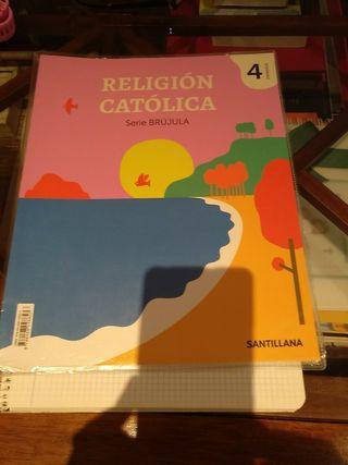 Religión Católica. serie brújula. Santillana