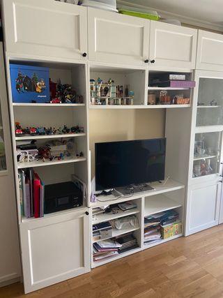 Mueble modular blanco ikea