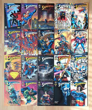 SUPERMAN Completa 20 tomos. Vid / Norma 2001