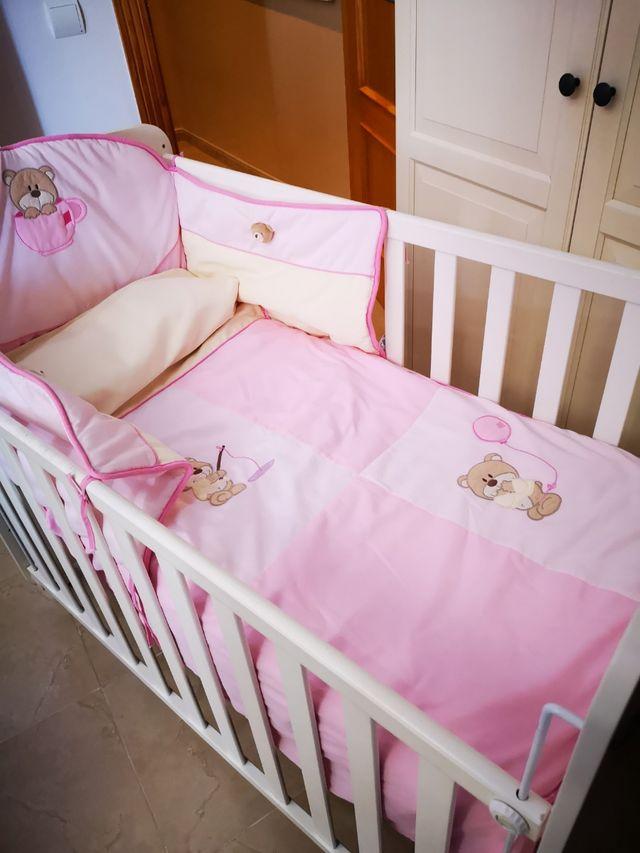 Cuna + colchon+complementos marca Micuna bebe