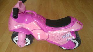 Moto correpasillos Juguettos (rosa)