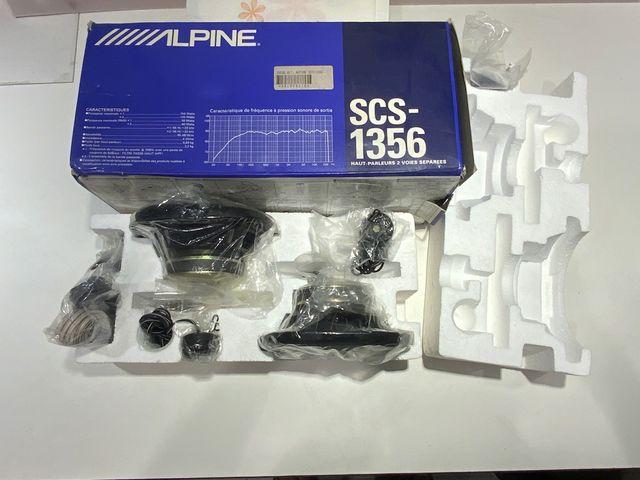 Alpine SCS 1356 Altavoces para Coche