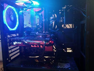 pc gaming. Intel xeon E3 1220 v5 3'3 Hz + asrock