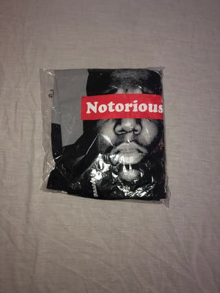 The Notorious Biggie crown t-shirt