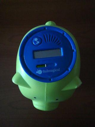 Hucha cerdito verde cuenta monedas del IMAGINARIUM