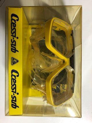 Aletas Mares y gafas Cressy para buceo y snorkel