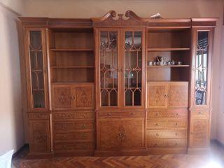 mural de salón. mueble salon