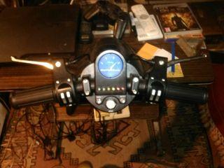 volante de moto para PlayStation y PlayStation 2