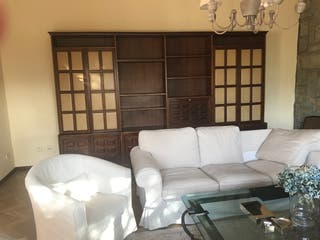 Estantería mueble de salón de madera