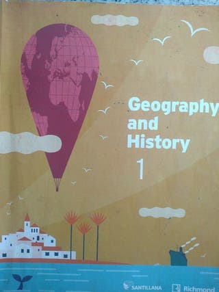 LIBRO GEOGRAPHY AND HISTORY 1