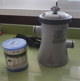 Depuradora de cartucho Intex
