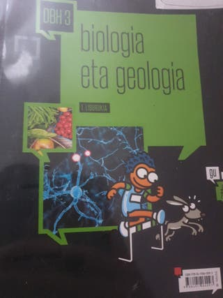 Libro de biología y geología 3 dbh.