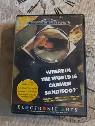 where in the world is Carmen san Diego sega