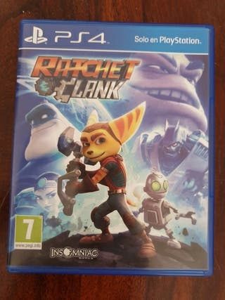 juego Ratchet Clank ps4