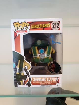 Commando Claptrap borderlands funko pop