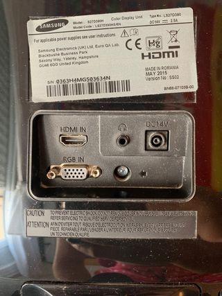 "Monitor Samsung 27"" LED Full HD"